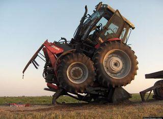 Tractor scramble