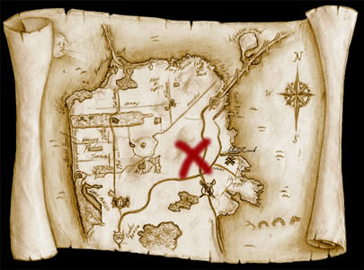 X-marks-the-spot-map