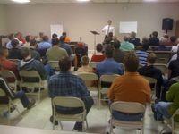 Speaking at Grace Baptist