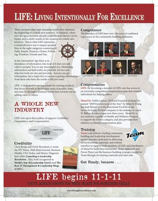 LIFE Promo Flyer picture 2